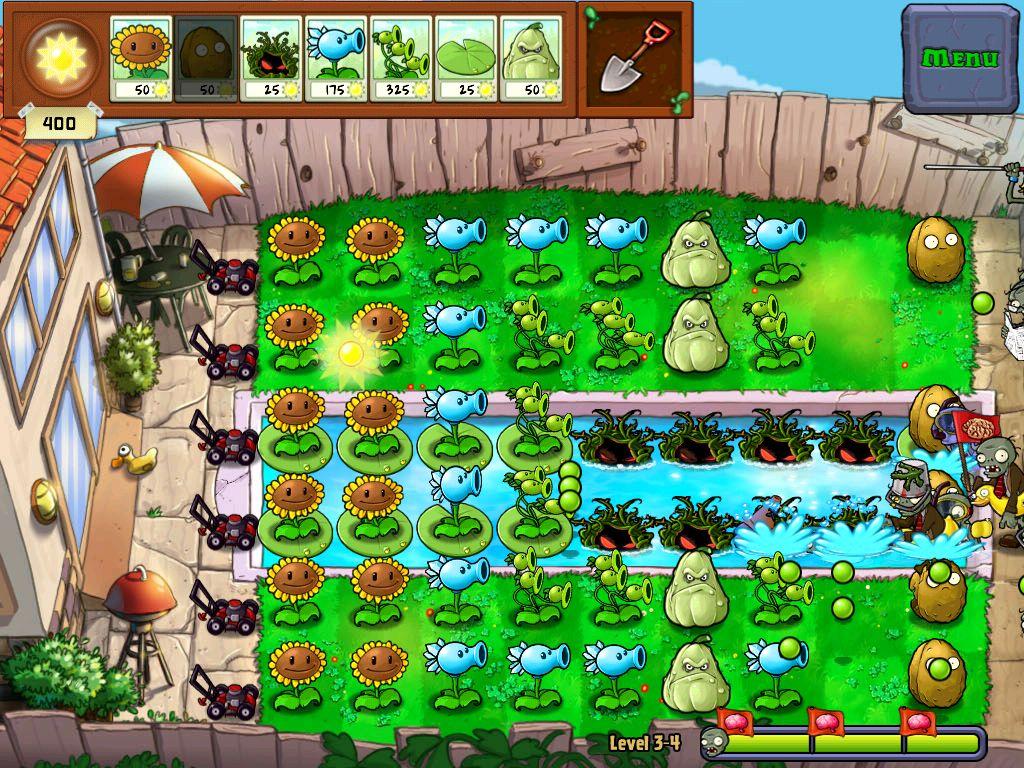 Растения против Зомби - скриншот